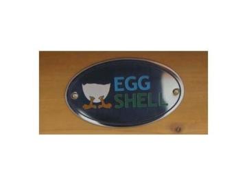 Eggshell Buckingham Hühnerstall mit Laufgehege auf Rollen, schützt vor Füchsen, tragbar, geschweißter/beschichteter 3-mm-Draht, Deckel lässt sich öffnen, mit Nistkasten, für 2-4 Hühner, Größe XXL, 250 cm JETZT MIT VOELLIG UEBERDACHTEN SOMMER/WINNTER STALL - 5