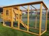 Hühnerstall Hühnerhaus Cocoon Hühnerstall Grosser Hühnerstall 4-6 Hühner mit Nistkasten aufmachbarem Dach für einfache Reinigung, mit Lüftungslöchern, mit stabilen Nistkasten, 30 % größer als Vorläufermodell (3000WX), ca. 250 cm - 1