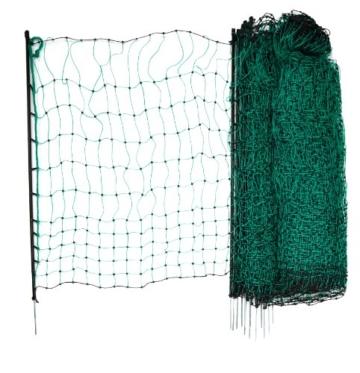 Kerbl 292208 Geflügelnetz 50 m, 112 cm Einzelspitze, ohne Strom, grün - 1